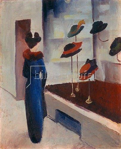 August Macke: Hutladen. 1913