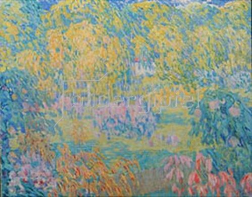Alexander Gausch: Bunte Landschaft.