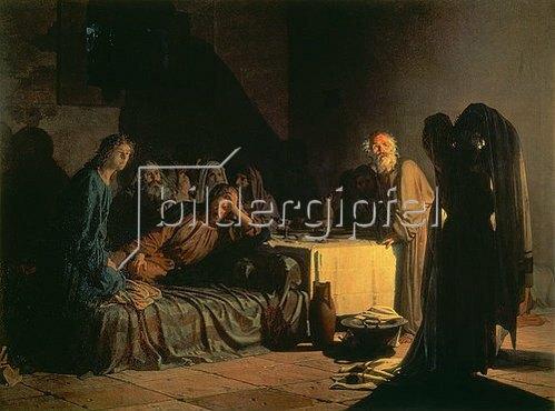Nikolai Gay: Das letzte Abendmahl. 1863.