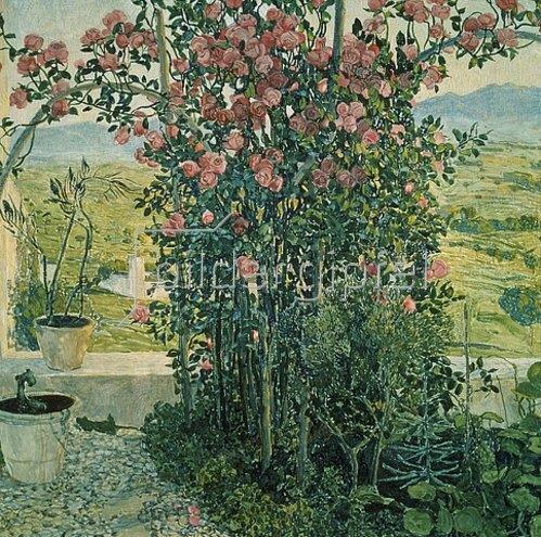 Alexander Jakowlev Golowin: Landschaft in Umbrien. 1910/1912.