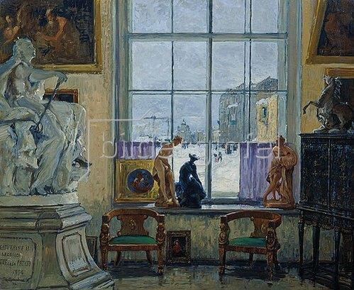 Konstantin Gorbatov: In einem Museum. 1916.