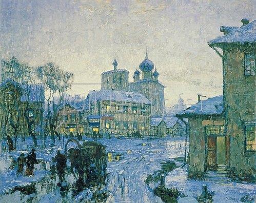 Konstantin Gorbatov: Tauwetter. 1910.
