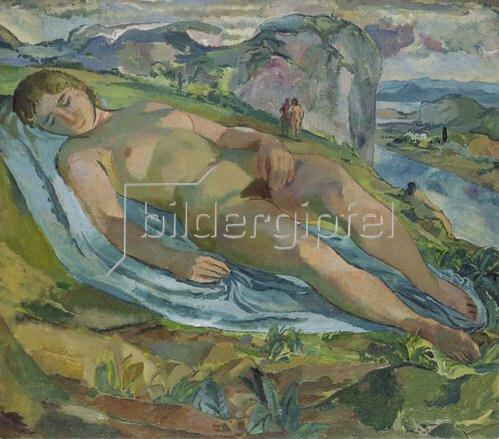 Albert Weisgerber: Mutter Erde.