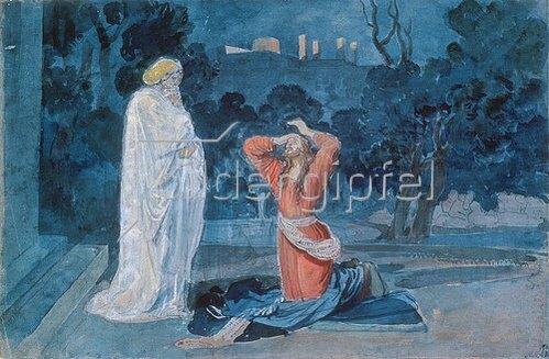 Alexander Iwanow: Christus im Garten Gethsemane. 1840/1857