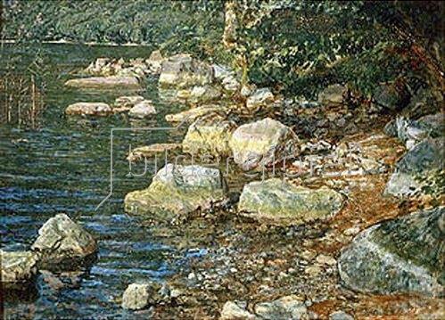 Alexander Iwanow: Steine im Bachbett (bei Pallazzuolo). 1850.