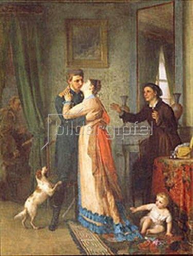 Akim Karnejev: Heimkehr aus dem Krieg. 1878.