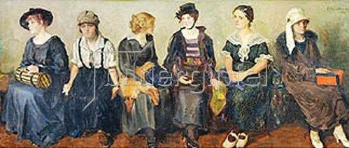 Nikolaj A Kasatkin: Schauspielerinnen. 1913/1924