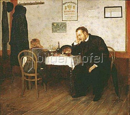 Mikhail Klodt: Das Waisenkind. 1897.