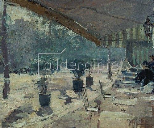 Alexejew. Konstantin Korovin: Boulevard-Café in Paris. 1890/1899