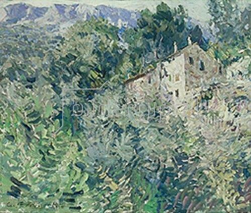 Alexejew. Konstantin Korovin: In Süd-Frankreich. 1908.