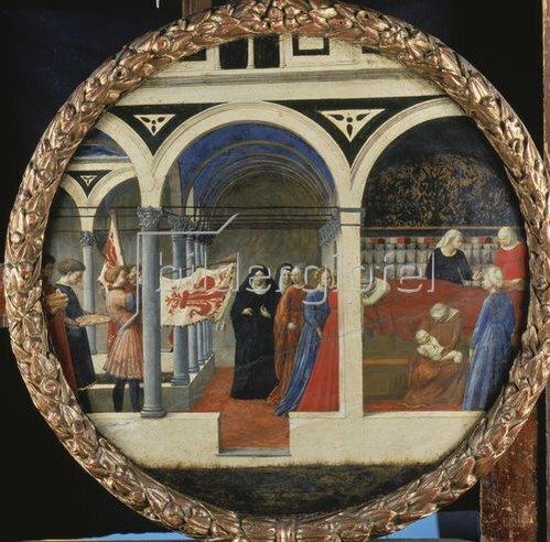 Masaccio: Wochenbett einer Florentinerin. (o.J.)