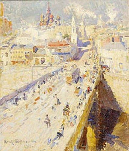 Alexejew. Konstantin Korovin: Alt-Moskau. 1913.