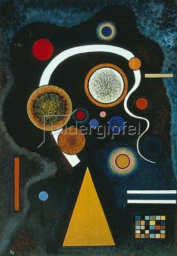 Wassily Kandinsky: Launischer Strich. 1924