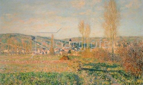 Claude Monet: Veteuil im Sonnenschein. 1880.