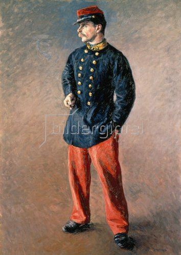 Gustave Caillebotte: Ein Soldat. Um 1881.