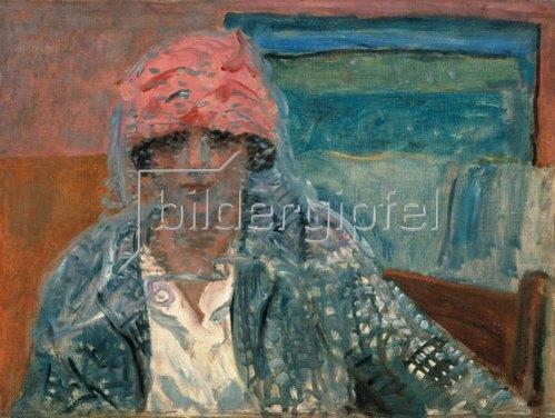 Pierre Bonnard: Frau mit Schleier (Mme. Lucienne Dupuy de Frenelle). Um 1917