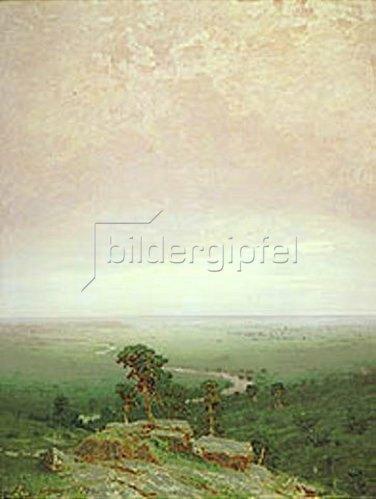 Arkhip Kuinji: Blick über weite nordische Landschaft. 1879.
