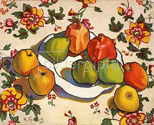 Nikolaj Kusnezow: Äpfel und Granatäpfel. 1916.