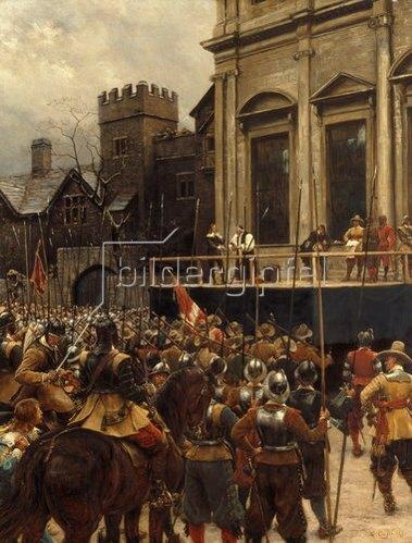 Ernest Crofts: Whitehall. 1890.