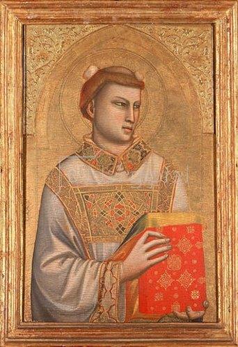 Giotto di Bondone: Der Hl. Stephan. Um 1325/1328