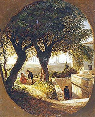 Leo Lagorio: Bei Rom. 1860.