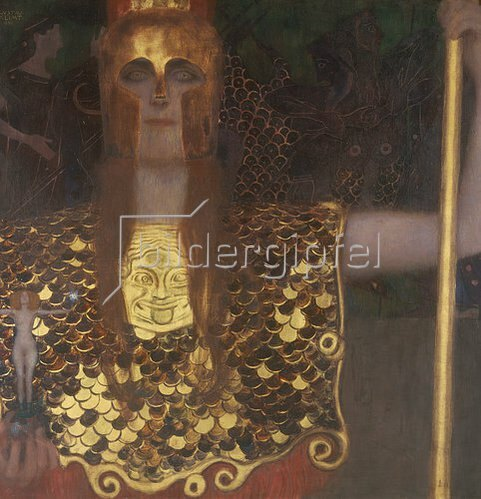 Gustav Klimt: Pallas Athene. 1898.