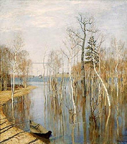 Isaak Iljitsch Lewitan: Hochwasser im Frühling. 1897.