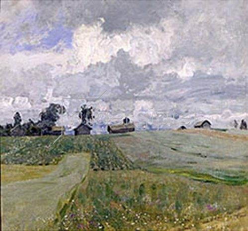 Isaak Iljitsch Lewitan: Stürmischer Tag mit grossen Wolken. 1897.