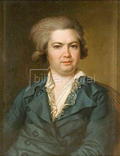 Dimitrij Grigorjew Lewizkij: Bildnis des Fürsten A. Worontsow (1748-1799). 1780-er Jahre.