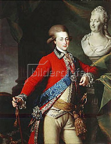 Dimitrij Grigorjew Lewizkij: Bildnis des Hofherren Alexander Landskoy. 1782.