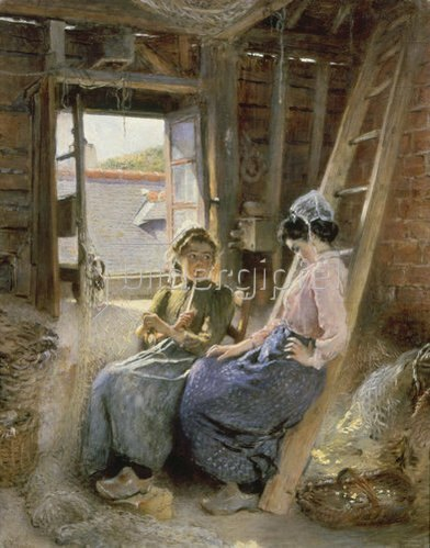 Konstantin Jegor Makovskij: Zwei bretonische Frauen. 1904.