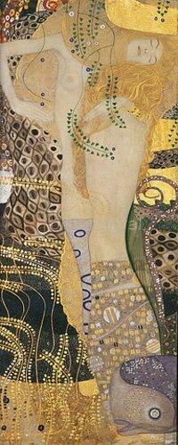 Gustav Klimt: Wasserschlangen I., 1904-1907.