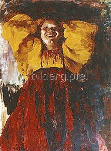 Philipp Maljawin: Junge Frau in gelb. 1903.