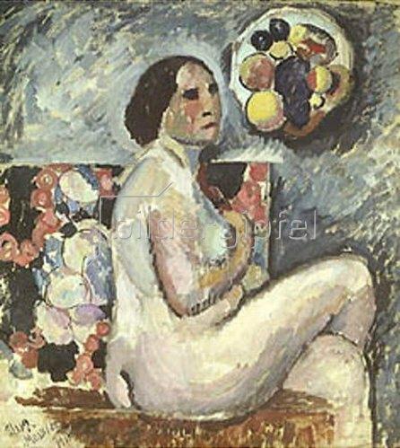 Ilja Iwanowitsch Maschkoff: Weiblicher Akt. 1915.