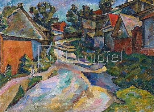 Adolf Israelewitsch Milman: Dorfstrasse 1913.