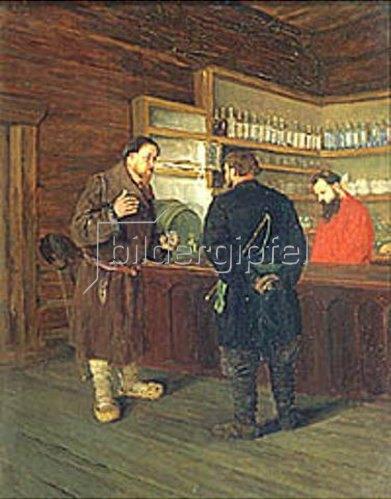 Timofej Mosgov: In einer Taverne. 1889.