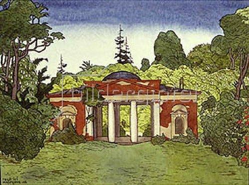 Georgij Narbut: Pavillon in Tsaritsyn. 1908.