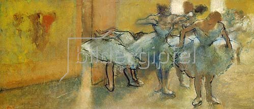 Edgar Degas: Im Übungsraum des Balletts. 1889-1905.