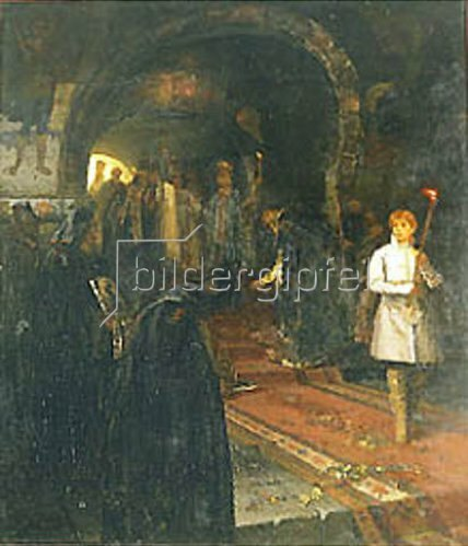 Michail Wassiljew Nesterow: Bittsteller am Hofe des Zaren. 1886.