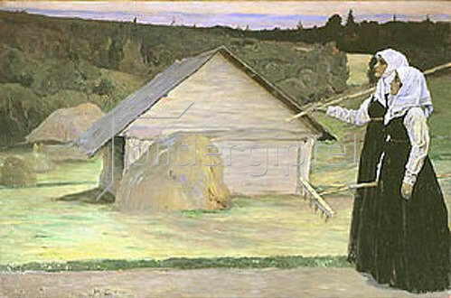 Michail Wassiljew Nesterow: Sommer. 1905.