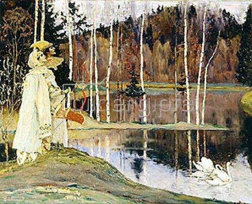 Michail Wassiljew Nesterow: Harmonie. 1905.