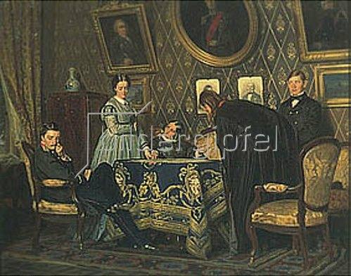 Nikolaj Wassiljewitsch Nevrev: Die Pflegetochter. 1867.