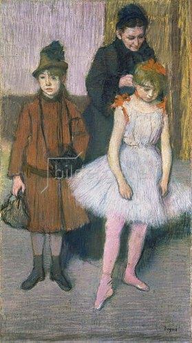 Edgar Degas: Die Familie Mante. Gegen 1884.