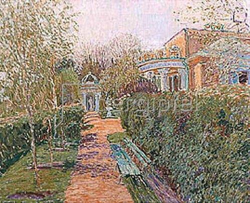 Wassily W Perepletschikov: Ein Teepavillon. 1914.