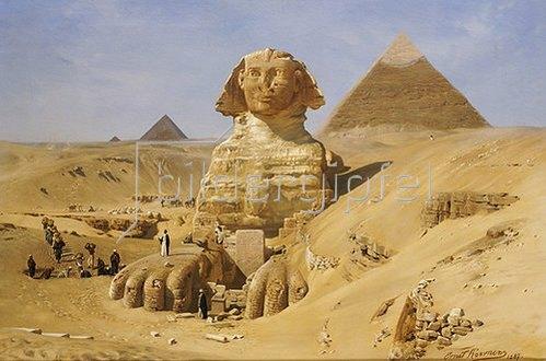 Ernst Carl Eugen Koerner: Die Ausgrabung der Sphinx. 1887.