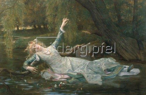 Alexandre Cabanel: Ophelia. 1883