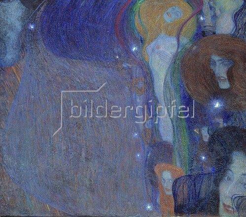 Gustav Klimt: Irrlichter. 1903.