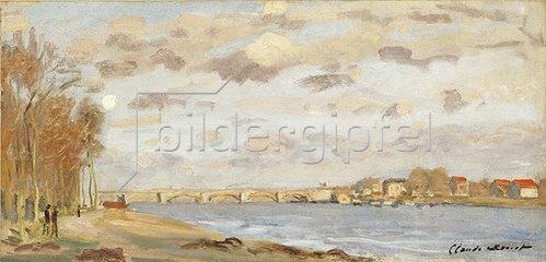 Claude Monet: Die Seine bei Argenteuil. 1872