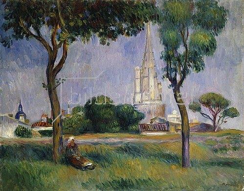 Auguste Renoir: Der Pulverturm von La Rochelle.