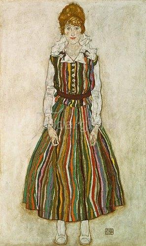 Egon Schiele: Edith Schiele. 1915.